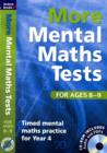More Mental Maths Tests for Ages 8-9 : Timed Mental Maths Practice for Year 4 - Book