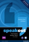 Speakout Intermediate Students book and DVD/Active Book Multi Rom Pack - Book