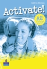 Activate! A2 Grammar & Vocabulary Book - Book