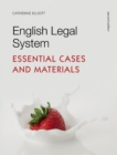English Legal System : Essential Cases and Materials - Book