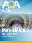AQA GCSE Mathematics for Higher sets Student Book - Book