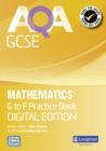 AQA GCSE Mathematics G-F Practice Book : Digital Edition - Book