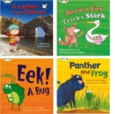 Learn to Read at Home with Phonics Bug: Pack 5 (Pack of 4 reading books with 3 fiction and 1 non-fiction) - Book