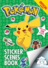 The Official Pokemon Sticker Scenes Book - Book
