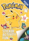 The Official Pokemon Sticker Activity Fun - Book