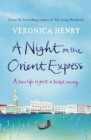 A Night on the Orient Express - eBook