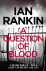 A Question of Blood - Book
