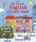 My First English Sticker Book - Book