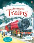 See Inside Trains - Book