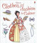 Clothes and Fashion to Colour - Book