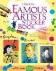 Famous Artists Sticker Book - Book