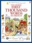First Thousand Words in French - Book