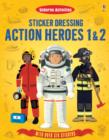 Sticker Dressing Action Heroes 1 and 2 - Book