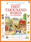 First Thousand Words in Spanish - Book