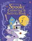 Spooky Colouring and Activity Book - Book