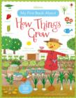 My First Book About How Things Grow Sticker Book - Book