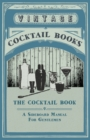 The Cocktail Book - A Sideboard Manual For Gentlemen - Book