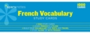 French Vocabulary SparkNotes Study Cards - Book