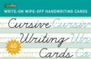 Cursive Writing Cards : Learning Cards - Book