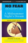 Midsummer Night's Dream: No Fear Shakespeare Deluxe Student Edition - Book