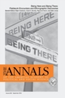 Being Here and Being There : Fieldwork Encounters and Ethnographic Discoveries - Book