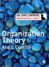 Organization Theory - Book