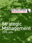 Strategic Management - Book