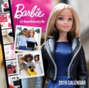Barbie @barbiestyle 2019 Wall Calendar - Book