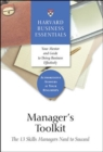 Manager's Toolkit : The 13 Skills Managers Need to Succeed - Book