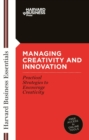 Managing Creativity and Innovation - eBook
