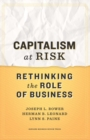 Capitalism at Risk : Rethinking the Role of Business - eBook