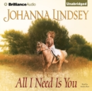 All I Need Is You - eAudiobook