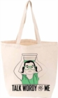 Talk Wordy to Me Tote FIRM SALE - Book