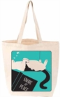 Snore and Peace Cat Tote FIRM SALE - Book