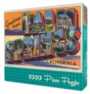 Greetings From Palm Springs Puzzle - Book