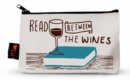 Read Between the Wines Pencil Pouch - Book