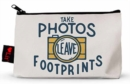 Take Photos, Leave Footprints Pencil Pouch - Book