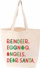 Christmas List Tote - Book