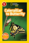 National Geographic Kids Readers: Caterpillar to Butterfly - Book