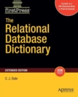 The Relational Database Dictionary, Extended Edition - Book