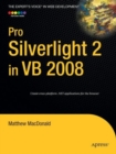 Pro Silverlight 2 in VB 2008 - Book