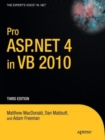 Pro ASP.NET 4 in VB 2010 - Book