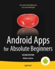 Android Apps for Absolute Beginners - Book