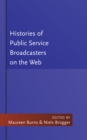 Histories of Public Service Broadcasters on the Web - Book