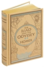 The Iliad & The Odyssey (Barnes & Noble Omnibus Leatherbound Classics) - Book