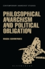 Philosophical Anarchism and Political Obligation - eBook