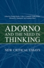 Adorno and the  Need in Thinking - eBook