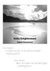 Haiku Enlightenment - Book