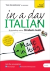 Beginner's Italian in a Day: Teach Yourself : Audio CD - Book