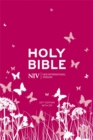 NIV Tiny Pink Soft-Tone Bible with Zip - Book